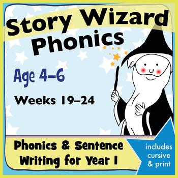 Age 4–6 Phonics & Sentences: 4th Six Weeks Phonics