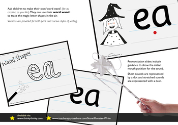 Age 4–6 Phonics & Sentences | Set 14: words with ea (as in dread)