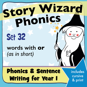 Age 4–6 Phonics & Sentences | Set 32: words with or (as in short)