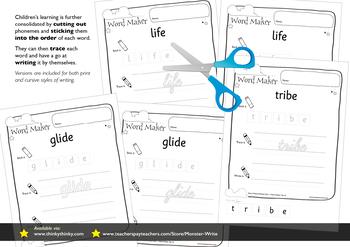 Age 4–6 Phonics & Sentences | Set 41: split digraphs i_e (as in glide)