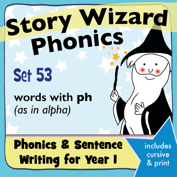 Age 4–6 Phonics & Sentences | Set 53: words with ph (as in alpha)