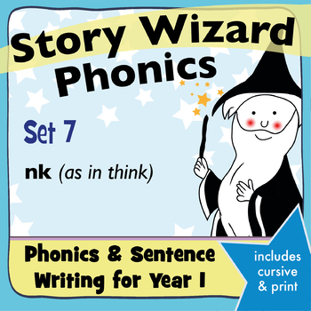 Age 4–6 Phonics & Sentences | Set 7: nk (as in think)