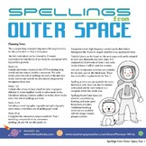 Age 4-6 Spelling Scheme: Spellings from Outer Space: Long Term Planner
