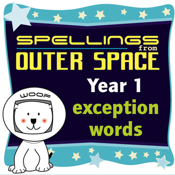 Age 4-6 Spellings: Exception Words