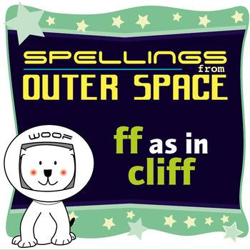 Age 4-6 Spellings: FF as in CLIFF