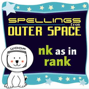Age 4-6 Spellings: NK as in RANK