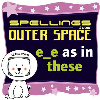 Age 4-6 Spellings: Split digraphs e_e