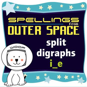 Age 4-6 Spellings: Split digraphs i_e
