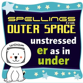 Age 4-6 Spellings: Unstressed ER as in UNDER