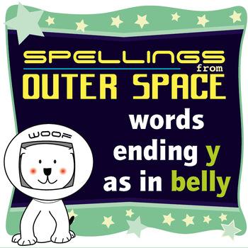 Age 4-6 Spellings: Words ending Y as in BELLY