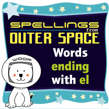 Age 4-6 Spellings: Words ending with EL