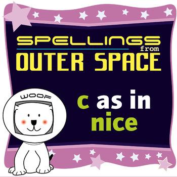 Age 4-6 Spellings: Words with C as in NICE