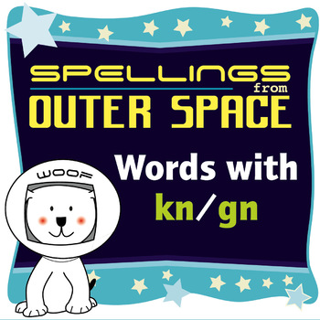 Age 4-6 Spellings: Words with KN/GN