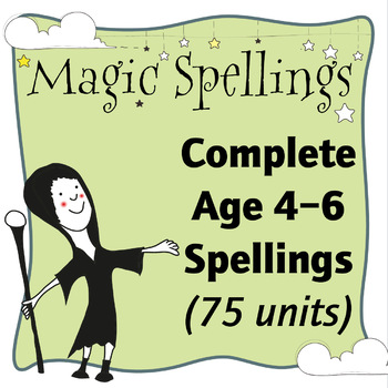 Age 5-6 Magic Spellings: Complete Year