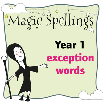 Age 5-6 Magic Spellings: Exception Words (sight words)