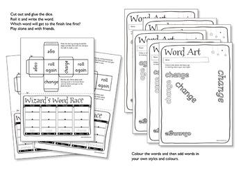 Age 5-6 Magic Spellings: Set 6 AR as in STAR