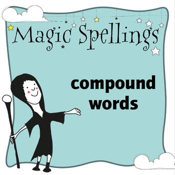 Age 5-6 Magic Spellings: Set 62 Compound Words