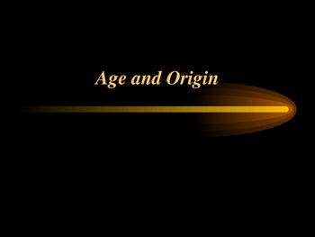 Age, Origin and Spanish-speaking countries