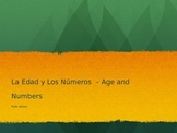 Age, Tener and Numbers PPT