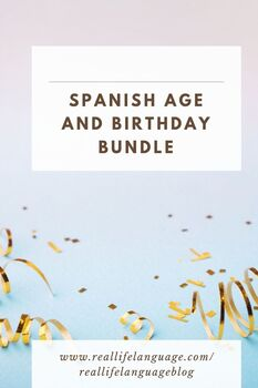 Age and Birthday Pack
