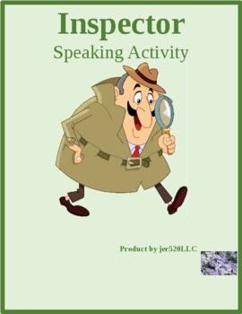 Age in English Inspector Speaking Activity