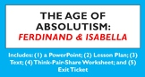 Age of Absolutism: Ferdinand & Isabella