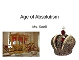 Age of Absolutism Power Point