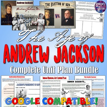Age of Andrew Jackson Unit Bundle