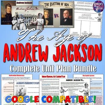 Age of Andrew Jackson Unit Bundle