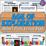 Age of Discovery and Exploration Readings & Dinner Party