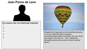 Age of Discovery Balloon Debates Template