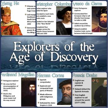 Age of Discovery Explorers Magic Portrait Lesson