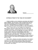 Age of Discovery / Marco Polo worksheet