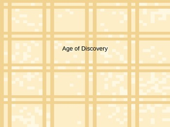 Age of Discovery PowerPoint