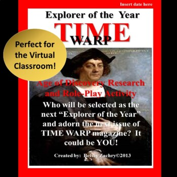 Age of Discovery Research and Role-Play Activity:  Explorers