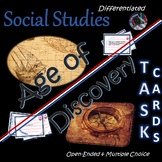 Age of Discovery~Task Cards~Social Studies~Worksheets/Charts~Studies Weekly