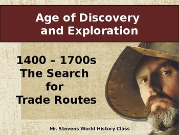 Age of Discovery and Exploration