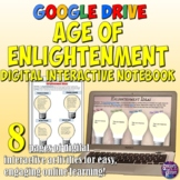 Age of Enlightenment Google Drive Interactive Notebook