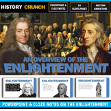 Age of Enlightenment - PowerPoint with Cloze Notes (Locke,