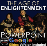 Age of Enlightenment PowerPoint w/Video Clips + Presenter Notes(Age of Reason)