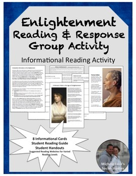 Age of Enlightenment Reading & Response Group Activity