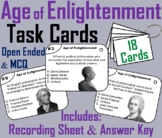 Age of Enlightenment Task Cards