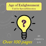 Age of Enlightenment Unit for Special Education