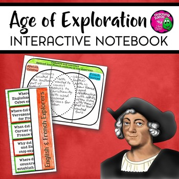 Age of Exploration 1400 - 1700 Interactive Notebook Unit INB World History