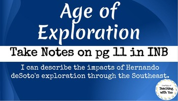 Age of Exploration + Activities (see description)