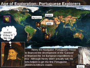 Age of Exploration (ALL 4 PARTS of the visual, textual, engaging 79-slide PPT)