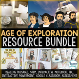 Age of Exploration Activities Distance Learning    Europea