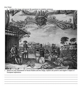 Christopher Columbus Worksheet: Engaging and Exciting CCLS