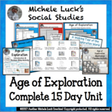 Age of Exploration Complete 2 Week Unit for World History or Euro