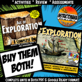 Age of Exploration Complete Unit & Google Ready Combined History Bundle